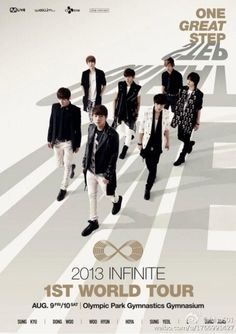 Infinite world tour poster