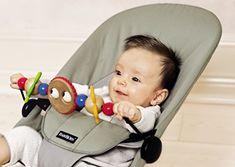 BABYBJORN BabySitter Wooden Toy, Googly Eyes