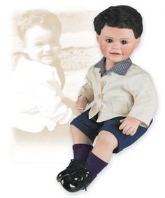 """Baby Donny (Ed. 5000); (Dear To My Heart Toddler Series); (14"""" Doll; Year 2006)"""
