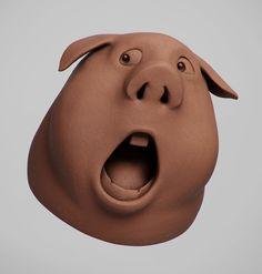 ArtStation - Pig, Guzz Soares