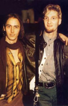 Mike McCready of Pearl Jam and Layne Staley of Alice In Chains