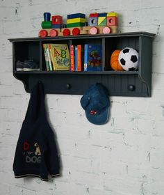 Love this wall cubby - perfect for organizing the kid's rooms