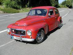 1960 Volvo PV 544 G- The very first car I ever bought, for $1.00, in the spring of 1971. All that I needed to do was slap on a new head gasket clean the Weber Carburetors down the road we went. She made the trip from New York to Montana and back twice and then back to Montana. Great car! One buck !!!