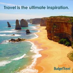 """""""Travel is the ultimate inspiration."""" - Michael Kors. #TravelTuesday #travel #quotes #travelquotes"""