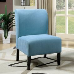 Superb Shop For Furniture Of America Varias Modern Flannelette Slipper Chair. Get Free  Shipping At Overstock · Furniture OutletOnline ...