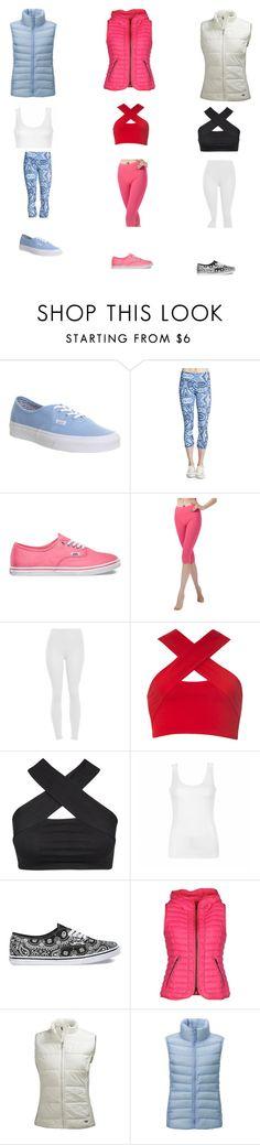 """la  moda del deporte 2015"" by anainesdiazh on Polyvore featuring moda, Vans, Onzie, Motel, Ally Fashion, Hogan, Helly Hansen y Uniqlo"