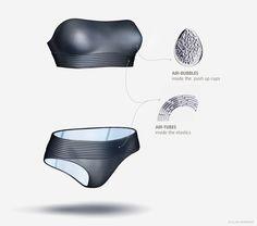 Uslon Life-Saving Swimwear | Designer: Katerina Semenko