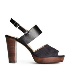 Leather sandals. #HMSHOES #HMPREMIUMQUALITY