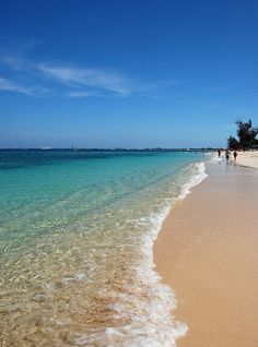 7 mile beach in the Grand Cayman Islands...beautiful