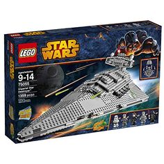LEGO Star Wars Imperial Star Destroyer - http://www.kidsdimension.com/lego-star-wars-imperial-star-destroyer/