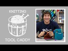 Make a custom craft caddy – video – Sew Modern Bags
