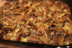 Paleo Pumpkin Bread Pudding (I personally dont consider Almond flour paleo, but better than regular bleached flour. Maybe just make this with whole wheat flour and just make it healthy)
