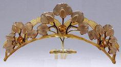 Lalique tiara comb