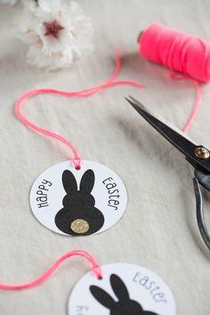 Printable easter bunny gift tags easter bunny free printable and printable easter bunny gift tags negle Choice Image