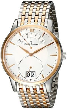 Claude Bernard Men's 34004 357RM AIR Classic Gents Stainless Steel Watch by claude bernard -- Awesome products selected by Anna Churchill