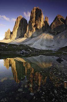 ♡ #seaofhearts Lakes of Grava Longa, Dolomites, Italy