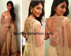 pooja hegde in anushree reddy anarkali