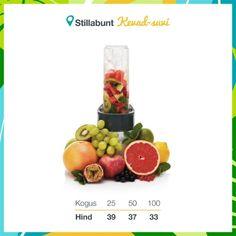 Smuutiblender pudeliga 550 ml (BPA-vaba). Lisandub KM. Mini Blender, Smoothie, Vegetables, Food, Essen, Smoothies, Vegetable Recipes, Meals, Yemek