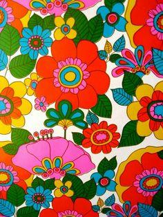 textile design late 1960s