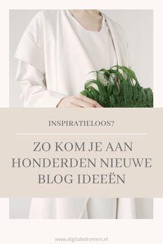 Heb je geen inspiratie voor nieuwe blog artikelen? Gebruik dan deze vragenlijst om snel aan honderden nieuwe blog ideeën te komen!
