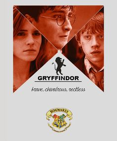 Gryffindor - Harry Potter, Rony Weasley and Hermione Granger Arte Do Harry Potter, Yer A Wizard Harry, Harry Potter Love, Harry Potter Fandom, Harry Potter World, James Potter, Hermione, Movies Quotes, Must Be A Weasley