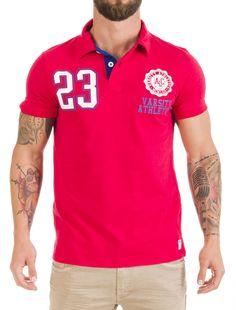 Polo Hombre Chicago #men #fashion #polo #compras #shopping #chueca #madrid #xxxmadrid #chicago #rojo