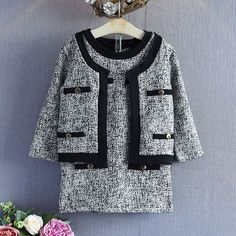 Find More Clothing Sets Information about 2PCS/2 7Years/Spring Autumn Baby Girls Outfits Boutique Clothing Set Fashion Knit Coat+Sleeveless Dress Kids Clothes Suit BC1321,High Quality clothes children,China clothes rack Suppliers, Cheap clothes ladder from babzapleume Boutique store on Aliexpress.com