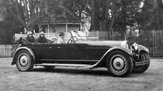 1927 Bugatti Type 41 Royale Prototype body by Packard