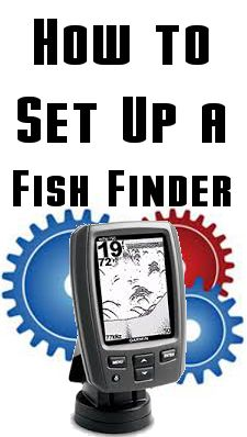 How to set up and read a fish finder by www.homelandfishing.com