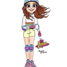 Luna Valente  @karolsevillaofc #SOYLUNA2  Me encanta cada vez más #SoyLuna! Mi personaje favorito, Luna está cada vez más cerca de saber que es Sol Benson, ¿Matteo le dirá a ella pronto la verdad sobre su padre?... ¿volverán a ser el equipo del #Jam&Roller?, aún faltan cosas por resolver... y no puedo esperar para ver más de Soy Luna hoy!   #dibujos #soyluna #karolsevilla #nadadeperfectas #arte #dibujo #drawings #souluna #lunavalente #solbenson #art