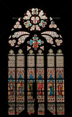"""Find """"gothic windows"""" stock images in HD and millions of other royalty-free stock photos, illustrations and vectors in the Shutterstock collection. Thousands of new, high-quality pictures added every day. Gothic Cathedral, Cathedral Windows, Church Windows, Gothic Style Architecture, Architecture Details, Stained Glass Rose, Stained Glass Windows, Cathedral Tattoo, Gothic Windows"""