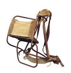 De-a lungul istoriei omenirii, o multime de modalitati de transport ale bebelusilor si copiilor mici au fost dezvoltate si folosite de diferite culturi. Rucsacul modern, isi are inceputul foarte recent