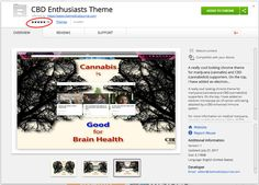Spread the word  Enjoy a FREE gift from the CBD Medical Journal Install this FREE Google Chrome Theme for Cannabis and CBD enthusiasts. Just click below and you will be directed to the Google's Chrome web storewhere you can download and the install the theme with a few clicks!  CBD Enthusiasts Theme  …