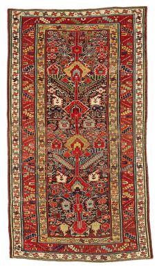 Sauj Bulag - North West Persia, Kurdistan, Second half 19th century, 218 x 123 cm
