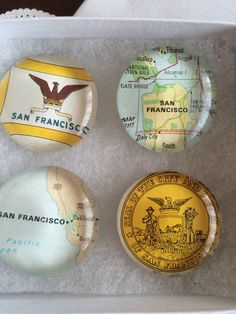 A personal favorite from my Etsy shop https://www.etsy.com/listing/223192192/san-francisco-art-glass-magnets-mothers