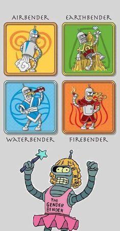 The 5 elements - Humour Spot Cartoon Network Adventure Time, Adventure Time Anime, Geeks, Stupid Funny, Funny Jokes, Hilarious, Futurama Bender, Futurama Quotes, Jokes