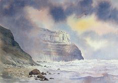 Original Watercolour Paintings and Signed prints of Snowdonia, North Wales, The Lake District, and Scotland by artist Chris Hull. Watercolor Painting Techniques, Watercolor Landscape Paintings, Painting & Drawing, Scotland Beach, Scotland Landscape, Art Tutor, Different Forms Of Art, Beach Watercolor, North Wales