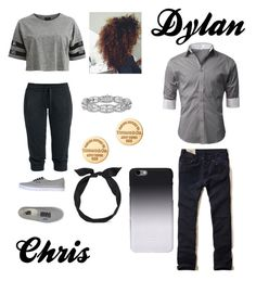 """Clint Barton's daughter and Loki's son (Ik I didn't make one Srry)"" by liltwinki on Polyvore"