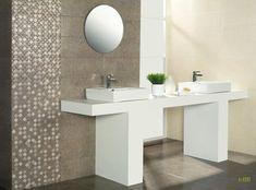 Eternety Pearl 20x50 falburkoló | Akció - Csempebolt Double Vanity, Sink, Mirror, Bathroom, Furniture, Terrace, Pasta, Pearl, Home Decor