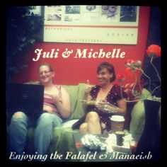 Julie and Michelle in the iCreate Cafe, at 130 King St., Pottstown. http://www.facebook.com/iCreateCafe