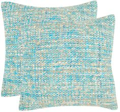 Safavieh Pillow Collection Throw Pillows, 20 by Carrie Playful Blue, Set of 2 Blue Throw Pillows, Accent Pillows, Blow Up Beds, Thing 1, Pillow Reviews, Red Candy, Pillow Sale, Color Patterns, Carry On