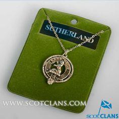 Sutherland Clan Crest Pendant