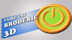 Faire une broderie 3D Pe Design, Couture, Company Logo, 3d, Logos, Brother, Machine Embroidery, Tutorials, Pattern