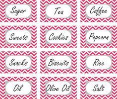 i Love Organized Home: Free Kitchen Storage Labels Organizing Labels, Storage Organization, Organizing Ideas, Printable Labels, Free Printables, Pantry Labels, Printing Labels, Kitchen Storage, Liquor