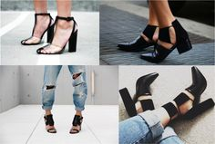 Currently Coveting cut-out shoes