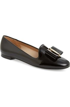Salvatore Ferragamo Elisabella Bow Loafer (Women) available at #Nordstrom