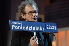 Słynny komik udowodnił, że wszystkie drogi prowadzą do...rymu! (fot. I. Sobieszczuk/TVP)