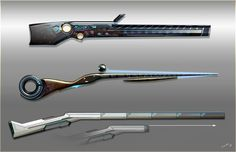The hunting rifles of legendary hunters, Timur Mutsaev on ArtStation at https://www.artstation.com/artwork/B9LXA