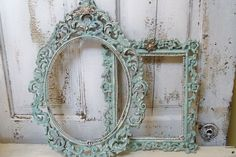 French picture frame grouping ornate adorned with rhinestones