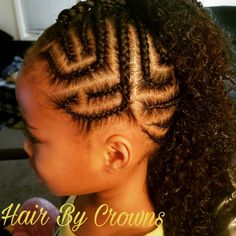 #Hairbycrowns #Natural   #Hair #curls #Cornrows #braids #mixed #biracial